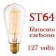 Lampada Filamento De Carbono Retro Taschibra 40w 127 St-64