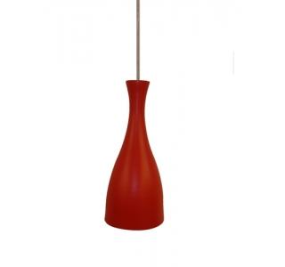 Lustre Pendente Td-1003 Vermelha ***taschibra*** Em Aluminio