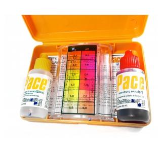 Kit Teste Medidor De Ph E Cloro Para Água De Piscinas
